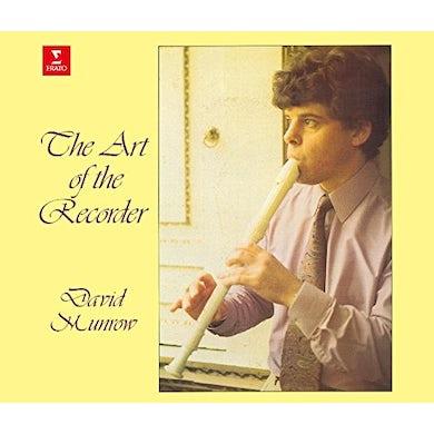 David Munrow ART OF THE RECORDER CD