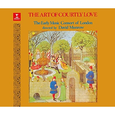 David Munrow ART OF COURTLY LOVE CD