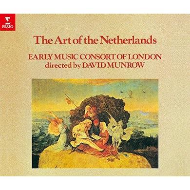 David Munrow ART OF THE NETHERLANDS CD