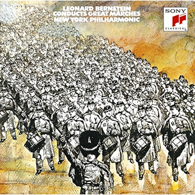 Leonard Bernstein CONDUCTS GREAT MAR CD