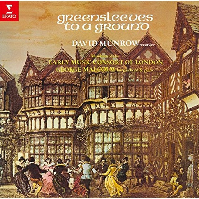 David Munrow GREENSLEEVES TO A GROUND CD
