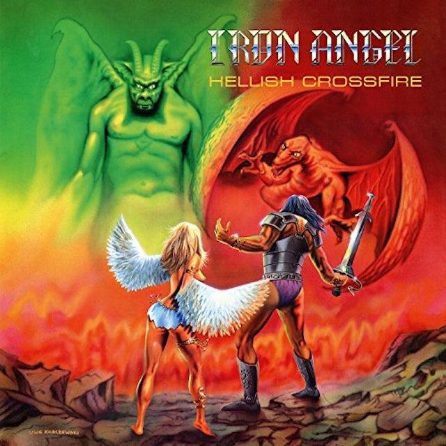Iron Angel HELLISH CROSSFIRE CD