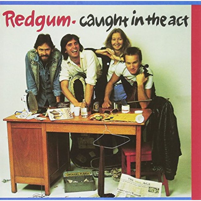 Redgum CAUGHT IN THE ACT (GOLD SERIES) CD