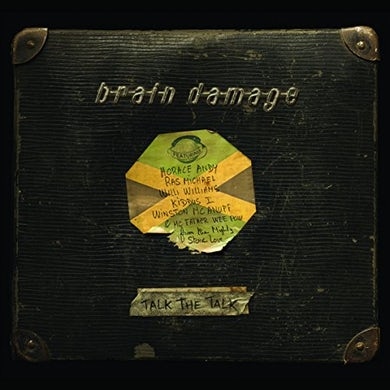 Brain Damage TALK THE TALK Vinyl Record