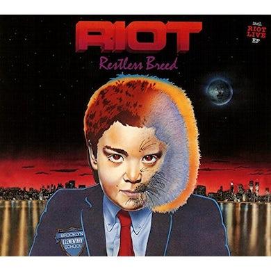 Riot RESTLESS BREED / LIVE 82 REISSUE Vinyl Record