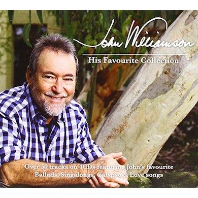 John Williamson HIS FAVOURITE COLLECTION CD