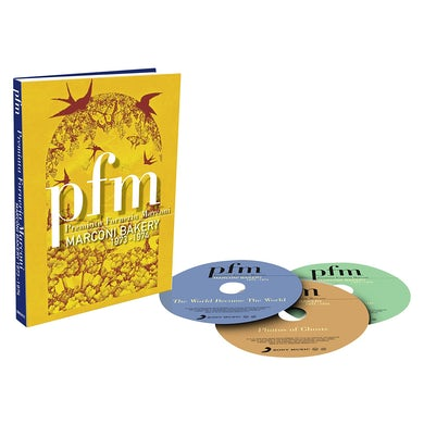 Pfm MARCONI BAKERY 1973-1974 CD