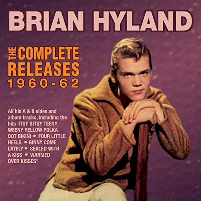 Brian Hyland COMPLETE RELEASES 1960-62 CD