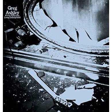Greg Ashley LIVING UNDERGROUND Vinyl Record
