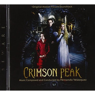 Fernando Velazquez CRIMSON PEAK / Original Soundtrack CD