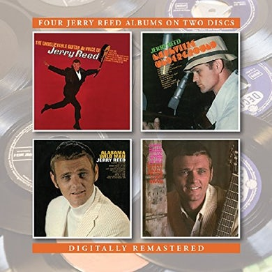 Jerry Reed UNBELIEVABLE GUITAR AND VOICE OF / NASHVILLE CD