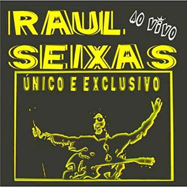 Raul Seixas AO VIVO: UNICO E EXCLUSIVO CD