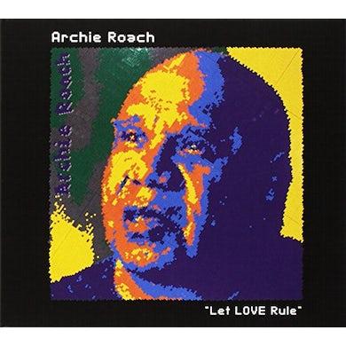 Archie Roach LET LOVE RULE CD