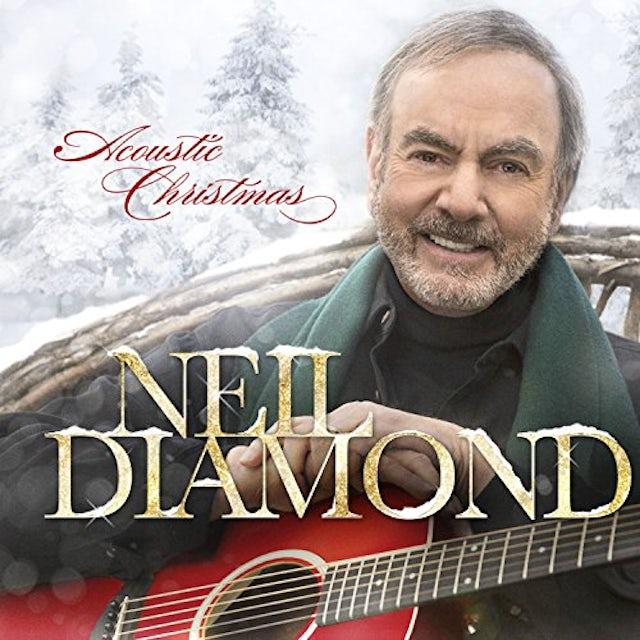 Neil Diamond ACOUSTIC CHRISTMAS Vinyl Record
