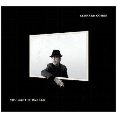 Leonard Cohen YOU WANT IT DARKER CD