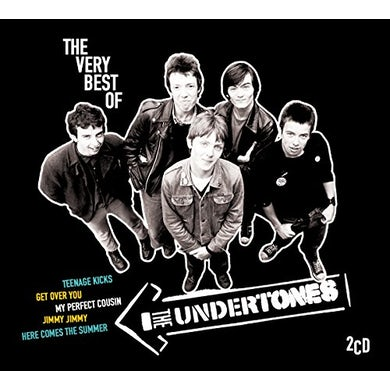 The Undertones VERY BEST OF CD