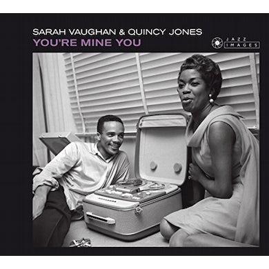 Sarah Vaughan YOU'RE MINE YOU CD