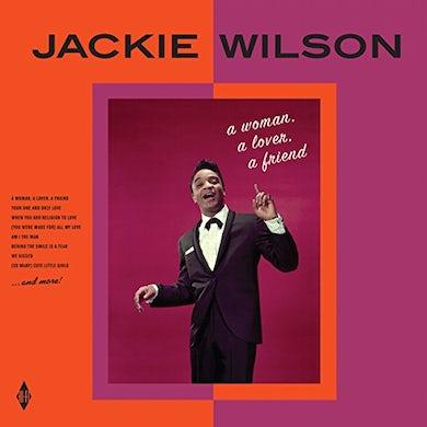 Jackie Wilson WOMAN A LOVER A FRIEND Vinyl Record