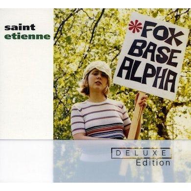 Saint Etienne FOXBASE ALPHA: 25TH ANNIVERSARY EDITION CD