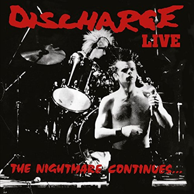 Discharge NIGHTMARE CONTINUES CD