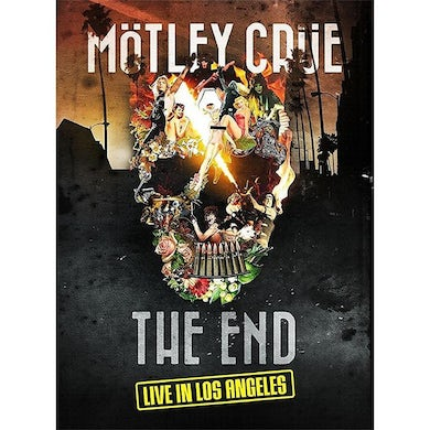 Motley Crue THE END: LIVE IN LOS ANGELES Blu-ray