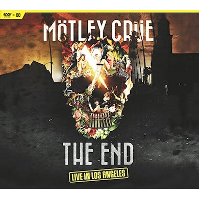 Motley Crue THE END: LIVE IN LOS ANGELES DVD