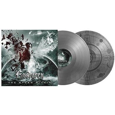 Evergrey STORM WITHIN: SILVER VINYL Vinyl Record