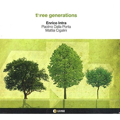 Enrico Intra THREE GENERATIONS CD