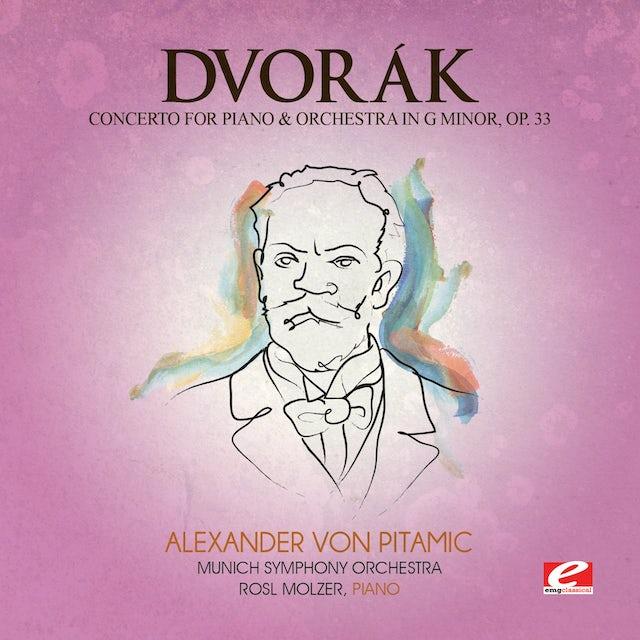 Dvorak CONCERTO PIANO & ORCH G MIN 33 CD