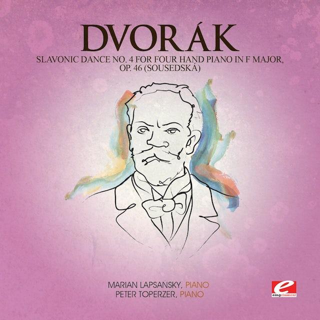 Dvorak SLAVONIC DANCE 4 FOUR HAND PIANO F MAJ 46 CD