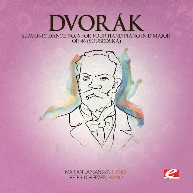 Dvorak SLAVONIC DANCE 6 FOUR HAND PIANO D MAJ 46 CD