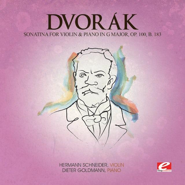 Dvorak SONATINA VIOL & PIANO G MAJ 100 B 183 CD