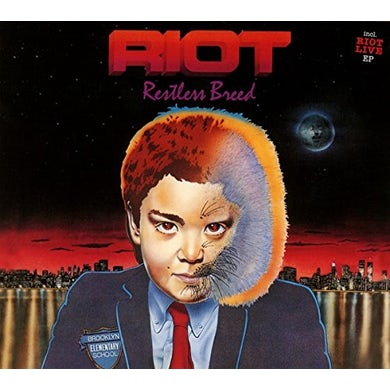 Riot RESTLESS BREED + 82 LIVE EP CD