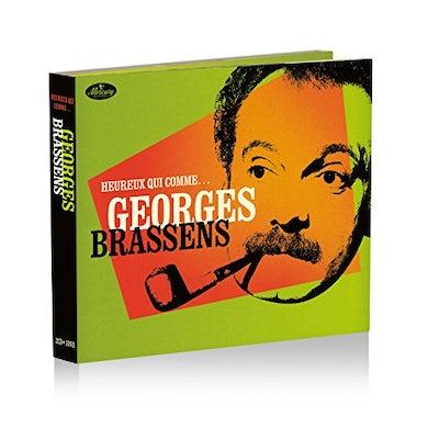 Georges Brassens HEUREUX QUI COMME CD