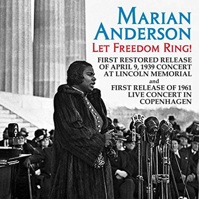 Marian Anderson LET FREEDOM RING: LIVE CONCERTS FROM LINCLON CD
