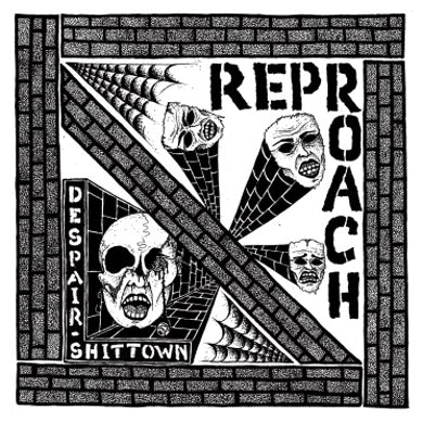 Reproach DESPAIR / SHITTOWN Vinyl Record