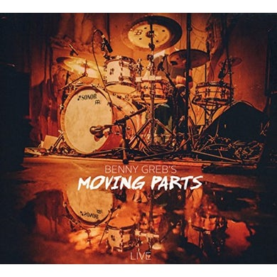 Benny Greb MOVING PARTS LIVE CD