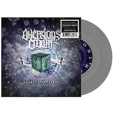 Aversions Crown EREBUS / PARASITES (GREY) Vinyl Record