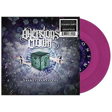 Aversions Crown EREBUS / PARASITES (MAGENTA) Vinyl Record