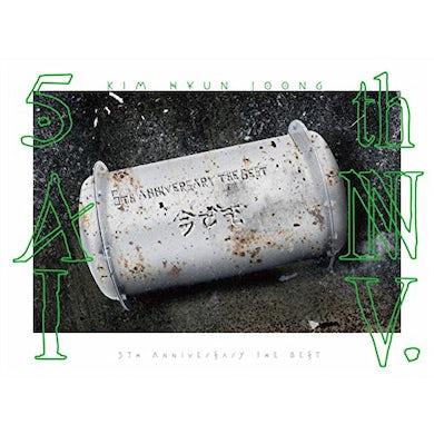 Kim Hyun Joong 5TH ANNIVERSARY THE BEST CD