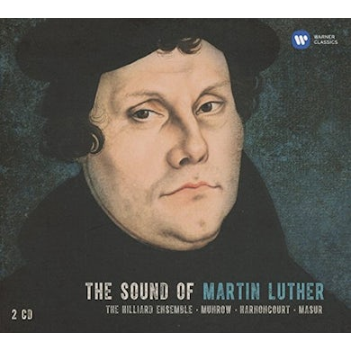 Hilliard Ensemble SOUND OF MARTIN LUTHER CD