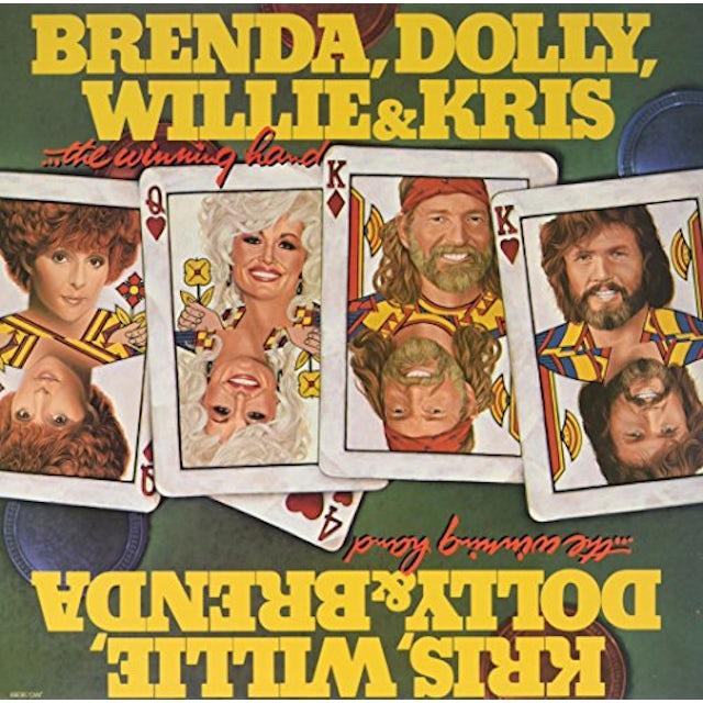 Willie Nelson / Dolly Parton WINNING HAND Vinyl Record