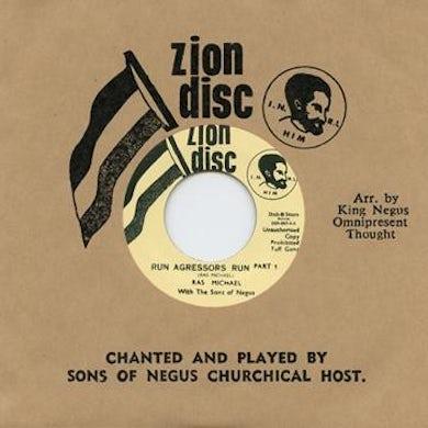 Sons Of Negus RUN AGRESSORS RUN Vinyl Record