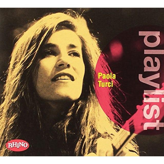 PLAYLIST: PAOLA TURCI CD