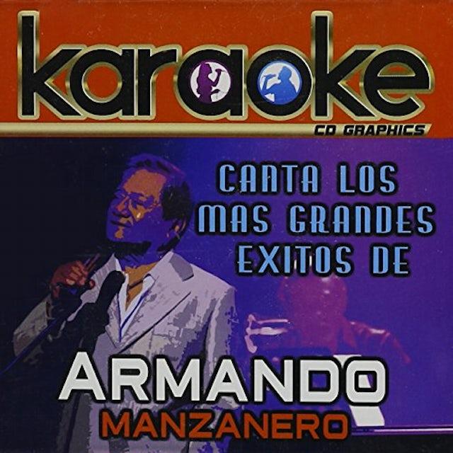 KARAOKE: CANTA COMO ARMANDO MANZANERO CD