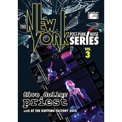 Five Dollar Priest NEW YORK POST PUNK / NOISE SERIES 3 DVD