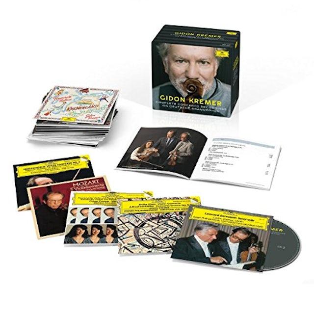 Gidon Kremer KREMER: COMPLETE RECORDINGS ON DEUTSCHE GRAMMOPHON CD