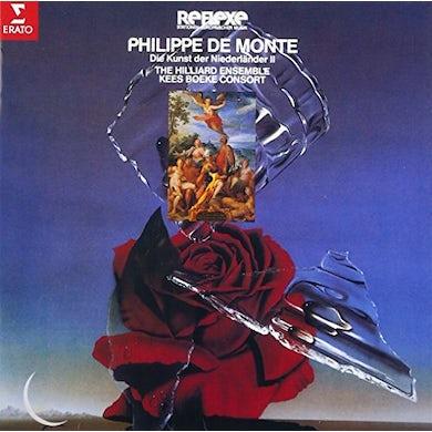 Hilliard Ensemble PHILIPPE DE MONTE: SACRED & SECULAR CD
