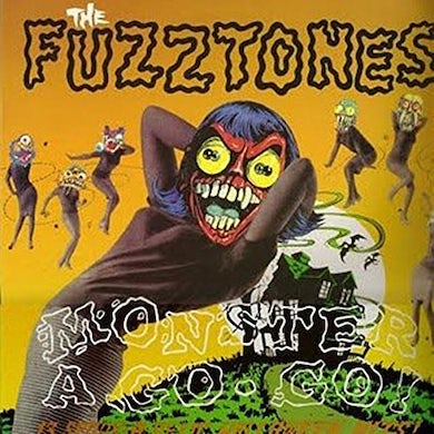 The Fuzztones MONSTER A GO GO Vinyl Record