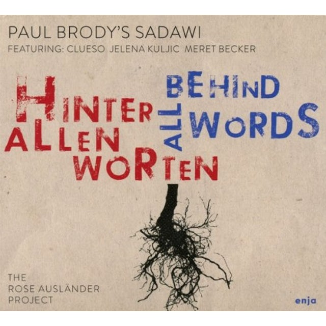 Paul Brody BEHIND ALL WORDS CD